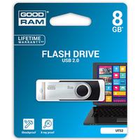 Pamięć USB GOODRAM 8GB UTS2 czarny USB 2.0 UTS2-0080K0R11