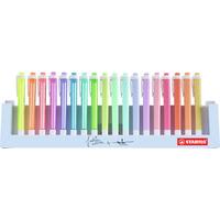 Zakreślacz STABILO SWING COOL pastel 18szt. podstawka na biurko 275/18-01-5