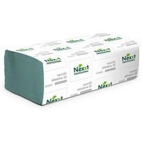 Ręcznik Z-Z `V` 23x25cm zielony NEXXT 4000 składek 1 warstwa 36g/m2 makulatura