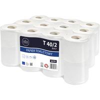 Papier toaletowy biały(24 rolki) 9cm*40m 2 warstwy 100% celuloza T 40/2 6279 ELLIS PROFESSIONAL
