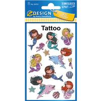 Naklejki tatuaże dla dzieci SYRENKI 56763 Z-DESIGN KIDS TATTOO AVERY ZWECKFORM
