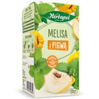 Herbata HERBAPOL (20t) ziołowo-owocowa Melisa z Pigwą 35g