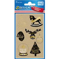 Naklejki papierowe Z-Design - Życzenia świąteczne 52291 AVERY ZWECKFORM