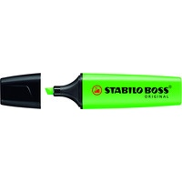 Zakreślacz STABILO BOSS zielony 70/33