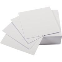 Kostka nieklejona NATUNA 85x85x70 biała