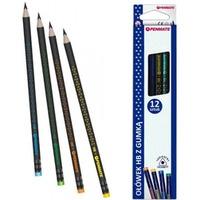 Ołówek trójkątny z gumką JUMBO HB (12) TT7536 PENMATE PREMIUM