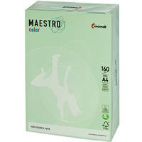 Papier A4 160g MAESTRO COLOR MG28 zielony pastel 250a