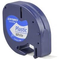 Taśma LETRAG plast.biała 59422 12/4 DYMO S0721560