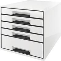 Pojemnik z 5 szufladami Leitz Black&White, bia ESSELTE 52530001