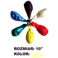 Balony 10' METALIK krem. (100) KW TRADE 170-1589