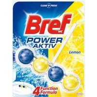 Zawieszka WC BREF POWER AKTIV 50g Lemon kulki 625197