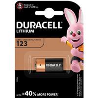 Bateria litowa DURACELL foto CR123/CR123A/CR17345/DL123/DL123A 3V/B
