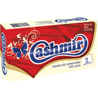 Chusteczki higieniczne 100 box 217737 CASHMIR
