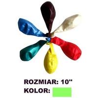 Balony 10' METALIK ziel.(100) KW TRADE