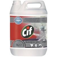 Płyn CIF 5L do mycia powierzchni łazienkowych koncentrat Washroom 2 in 1 7518652