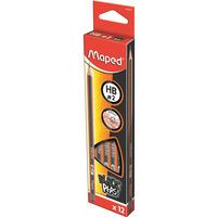 Ołówek drewniany Blackpeps HB MAPED 850021