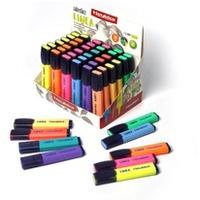 Zakreślacz klasyczny mix kolorów 10 kolorów HEYKKA (611509)