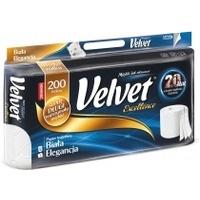 Papier toaletowy biały 3w (op 8szt)VELVET EXCELLENCE