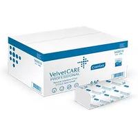 Ręcznik biały VELVET ZZ V-FOLD 3000 składek 2warstwy celuloza 5600016