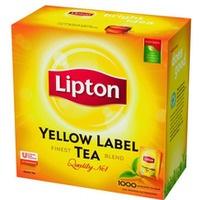 Herbata LIPTON Yellow Label 1000 saszetek (10 tacekx100saszetek)