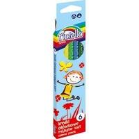 Kredki FIORELLO Super soft 6 kolorów trójkątna 170-2186