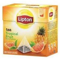 Herbata LIPTON PIRAMID OWOCE TROPIKALNE 20t