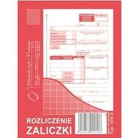 409-5 Rozliczenie zaliczki MICHALCZYK&PROKOP A6 40 kartek