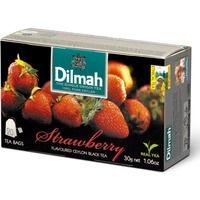 Herbata DILMAH AROMAT TRUSKAWKA 20t*1, 5g czarna