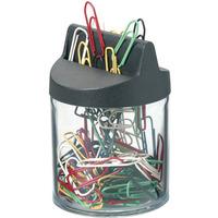 Pudełko magnetyczne z kolorowymi spinaczami 26mm (125szt) 124000 DURABLE