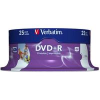 Płyta DVD+R VERBATIM CAKE(25) nadruk Retail Wide 4.7GB x16 43539