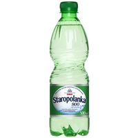 Woda mineralna STAROPOLANKA 800 0,5l (12) gazowana