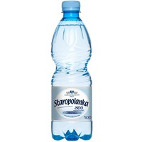 Woda mineralna STAROPOLANKA 800 0, 5l(12)lekko gazowana