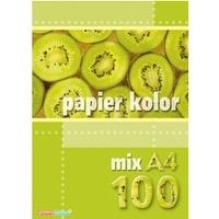 Papier xero A4 mix(100 ark)KRESKA