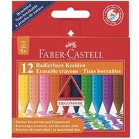 Kredki GRIP trójkątne 12 kolorów FABER-CASTELL 122520 FC