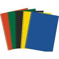 Okł.do bind A4 czerw 0.20(100) BIURFOL OK-17-31