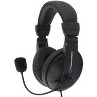 Słuchawki CONCERTO stereo z mikrofonem EH103 ESPERANZA