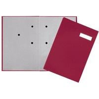 Teczka do podpisu 20-częściowa czerwona PP 2419211 DURABLE
