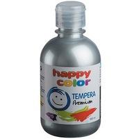 Farba TEMPERA Premium 300ml srebrny HAPPY COLOR 3310 0300-81