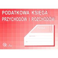 K-1u Podatkowa księga przychodów i rozchodów A4 offset MICHALCZYK&PROKOP