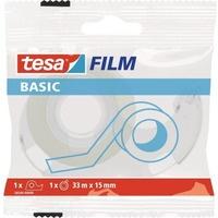 Taśma biurowa TESA Basic 15x33m z Dyspenserem w etui 1szt. 58549