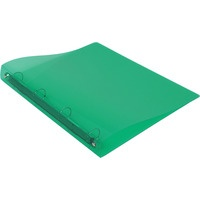 Okładka PP A4 4ringi PP-11-02 zielona BIURFOL