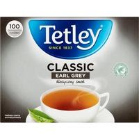Herbata TETLEY EARL GREY (100 saszetek) czarna