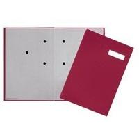 Teczka do podpisu 20-częściowa czerwona 24191-11 DURABLE