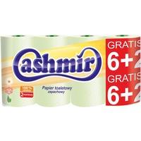 Papier toaletowy (6+2szt.), zielony 207157 CASHMIR