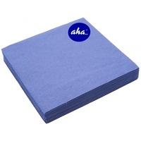 Serwetki AHA (20szt)niebieskie/granatowe