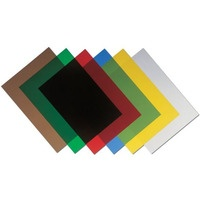 Okładki przezroczyste A4 200mic żółta (100szt.) 5377001 FELLOWES