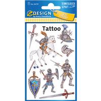 Naklejki tatuaże dla dzieci RYCERZ 56739 Z-DESIGN KIDS TATTOO AVERY ZWECKFORM