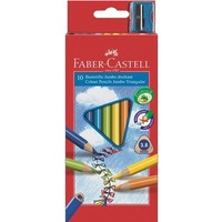 Kredki trójkątne FABER-CASTELL Junior Grip 10 kolorów 116510 FC