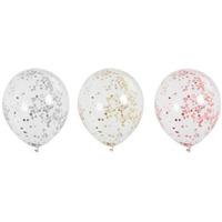 Balony z konfetti średnica 30cm (5szt.) BKN-8643 ALIGA