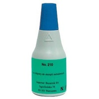 Tusz NORIS 210 metal czarny 25ml do stempli metalowych NO210CA